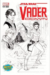 Vader Down #1 (Siya Oum Northeast Comic Con Sketch Variant Cover) (05.12.2015)