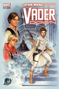 Vader Down #1 (Siya Oum Northeast Comic Con Variant Cover) (05.12.2015)