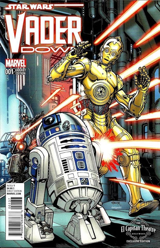 Vader Down #1 (Todd Nauck El Capitan Theatre Variantcover) (18.11.2015)