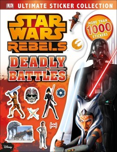 Star Wars Rebels: Deadly Battles: Ultimate Sticker Collection (05.07.2016)