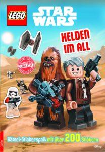 LEGO Star Wars: Helden im All - Rätsel mit über 200 Stickern (01.07.2016)