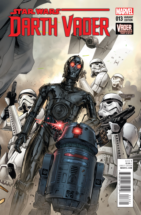 Darth Vader #13 (Clay Mann Connecting Variant Cover B) (25.11.2015)