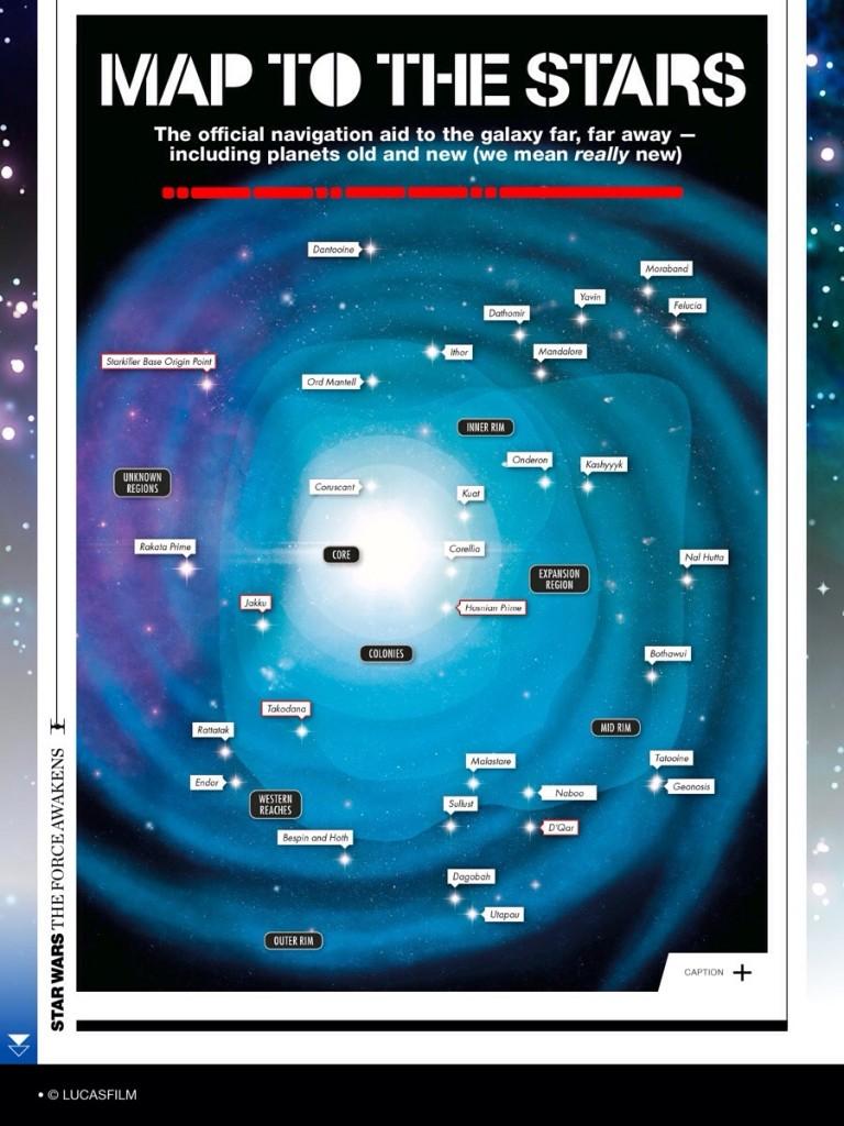 Die Galaxis in <em>Das Erwachen der Macht</em>