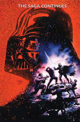 """Vader Down #1 (Mike Mayhew Wizard World Comic Con Box """"Virgin"""" Variant Cover) (18.11.2015)"""