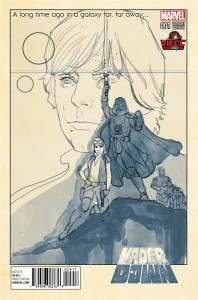 Vader Down #1 (Phil Noto Vienna Comic Con Black & White Variant Cover) (21.11.2015)