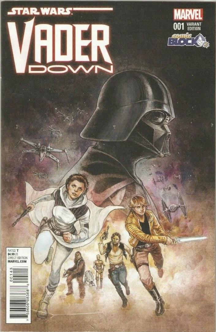 Vader Down #1 (Siya Oum Comic Block Variant Cover) (18.11.2015)