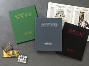 Die drei verschiedenen Editionen des Buches.