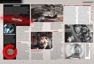 Vorschauseiten: Geheimnisse der Raumfahrt: Die Vierlings-Laser-Kanone des Falcon