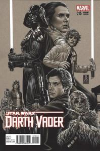 Darth Vader #15 (Mark Brooks Sketch Variant Cover) (06.01.2016)