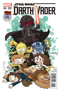 Darth Vader #15 (Katie Cook Mile High Comics Variant Cover) (06.01.2016)