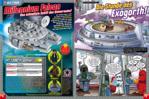 LEGO Star Wars Magazin #7 - Vorschau Seiten 4 und 5