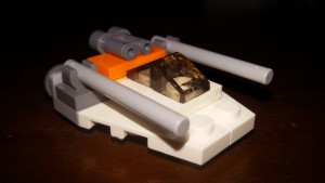 LEGO Star Wars Magazin #6 - Snowspeeder - Minimodell