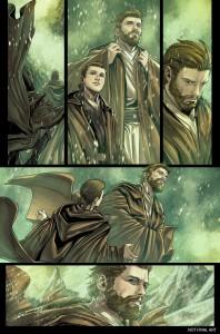 Obi-Wan & Anakin #1 - Vorschauseite 1