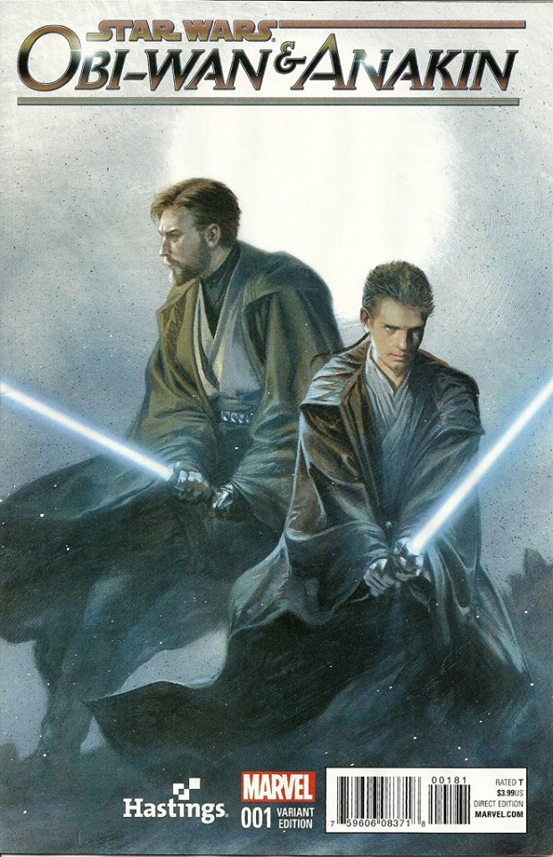 Obi-Wan & Anakin #1 (Gabriele Dell'Otto Hastings Variant Cover) (06.01.2016)