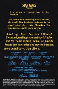 Star Wars Annual #1 - Vorschauseite 1