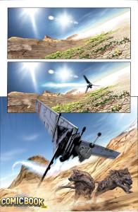 Star Wars #15 - Vorschauseite 1
