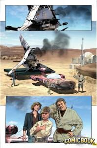 Star Wars #15 - Vorschauseite 4