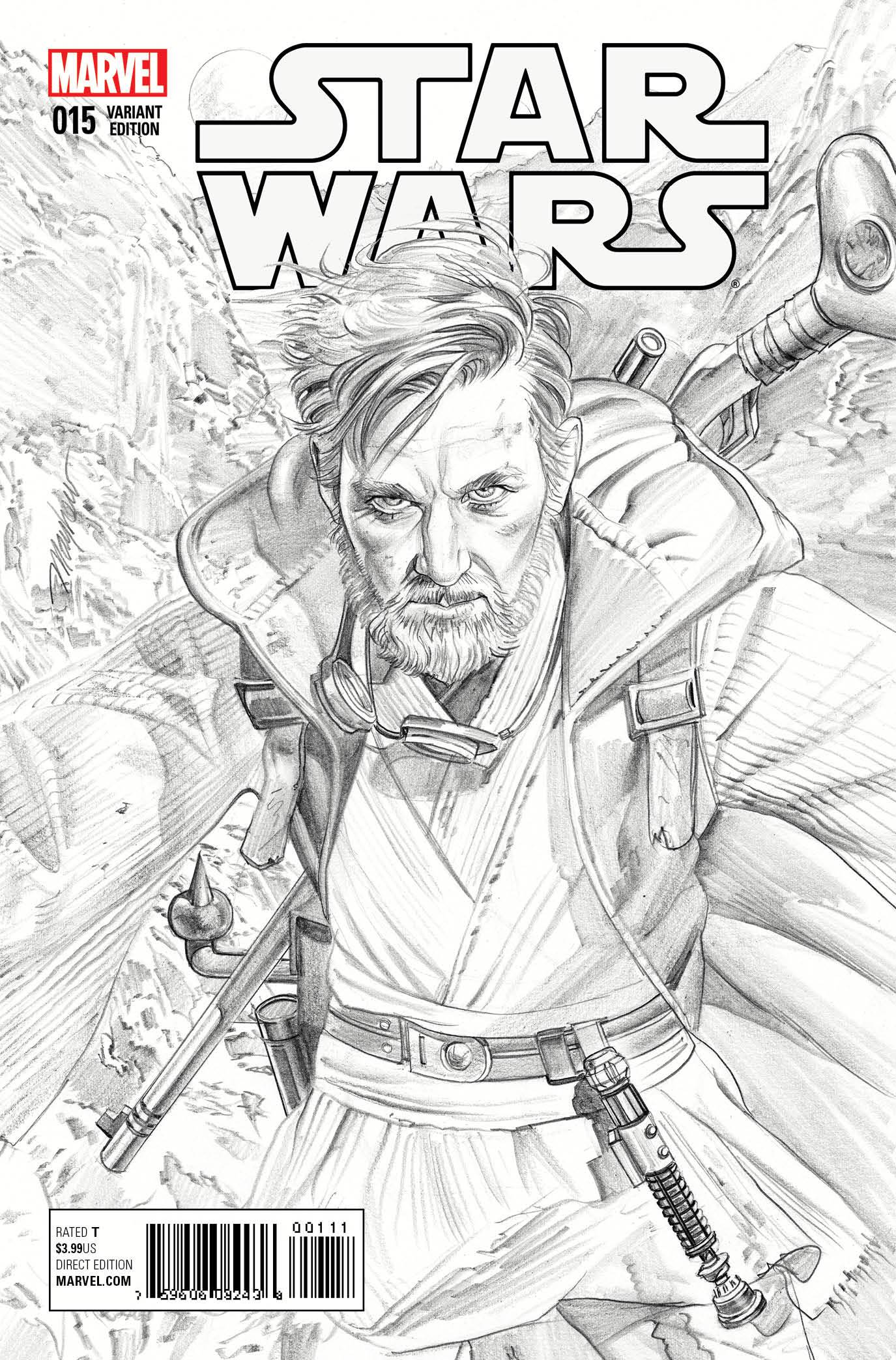 Star Wars #15 (Mike Mayhew Sketch Variant Cover) (20.01.2016)