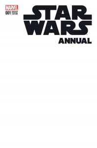 Star Wars Annual #1 (Blank Variant Cover) (09.12.2015)