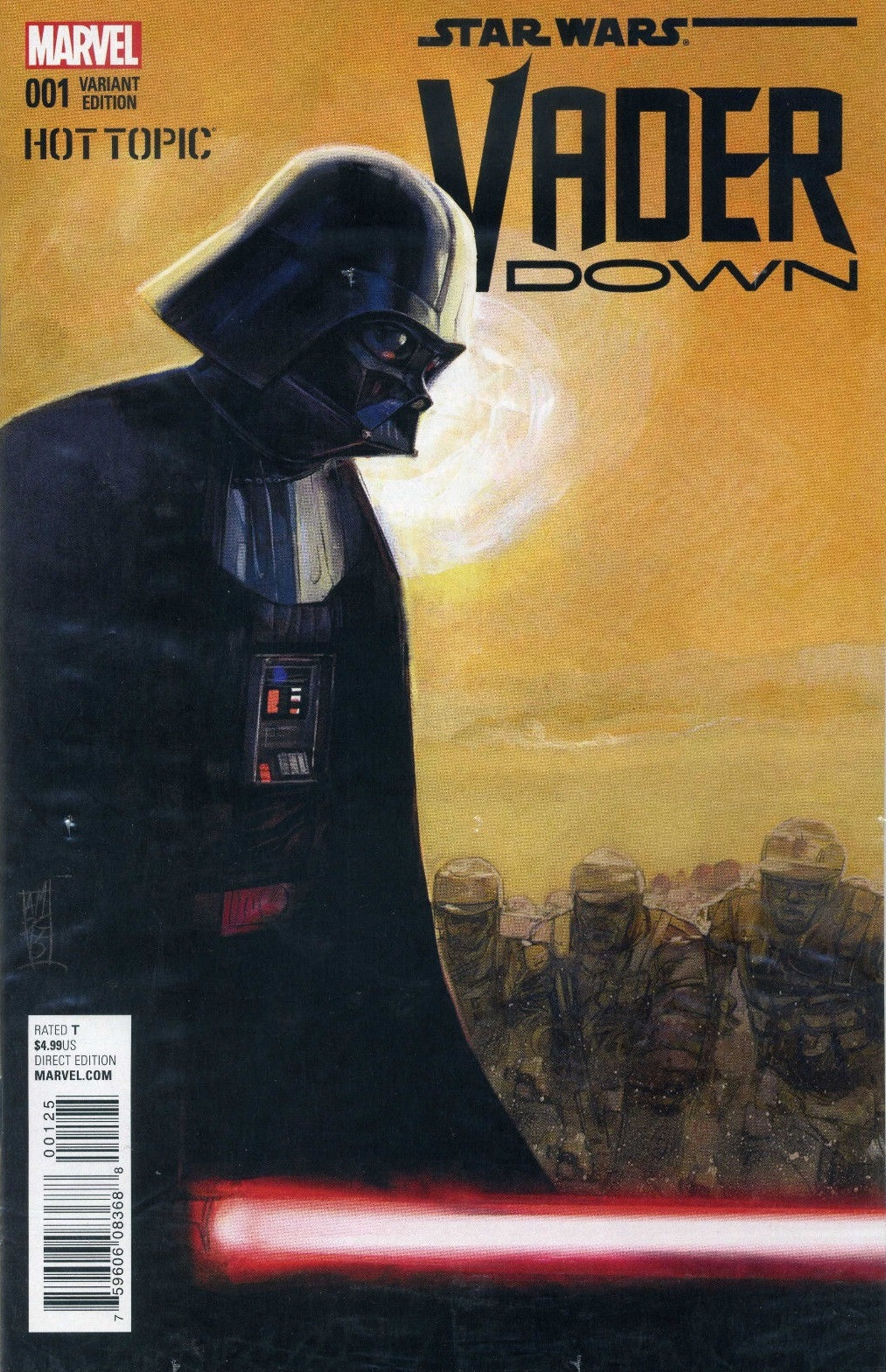 Vader Down #1 (Alex Maleev Hot Topic Variant Cover) (18.11.2015)