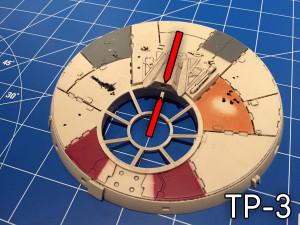 Geschützturm TP-3.