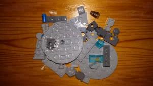 LEGO Star Wars Magazin #7 - Millenium Falcon - Bauteile