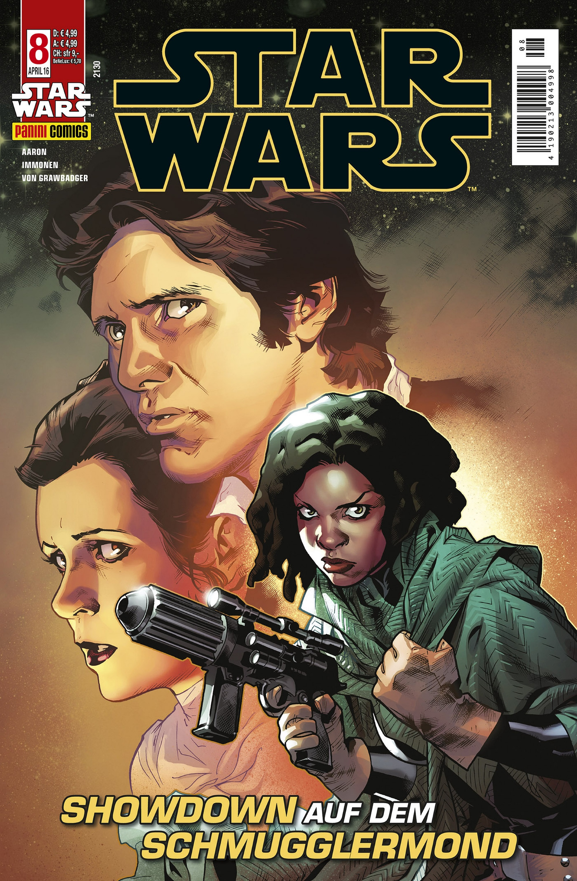 Star Wars #8 (Kiosk-Cover) (23.03.2016)