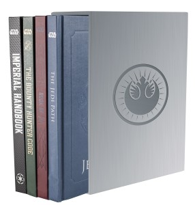 Star Wars 4-Book Deluxe Box Set (2015)