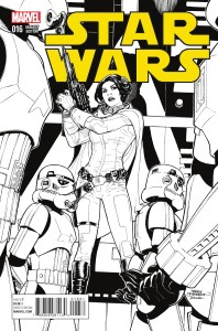 Star Wars #16 (Terry Dodson Sketch Variant Cover) (17.02.2016)