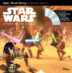 Star Wars: Attack of the Clones Read-Along Storybook and CD (07.02.2017)