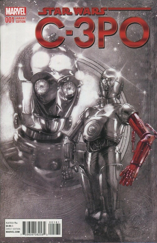 Star Wars Special: C-3PO #1 (Tony Harris Red Arm Spotlight Variant Cover) (13.04.2016)