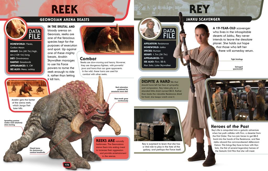 Character Encyclopedia - Vorschauseite 1