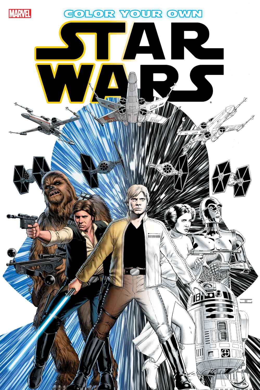 Vermischtes: Wild Space 4, Marvel-Malbuch und Aliens – Jedi-Bibliothek