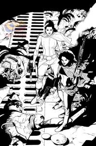 Star Wars #17 - Tuschezeichnungen 1