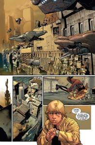 Star Wars #8 - Vorschauseite 1