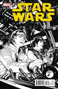 Star Wars #17 (Terry Dodson Sketch Variant Cover) (23.03.2016)