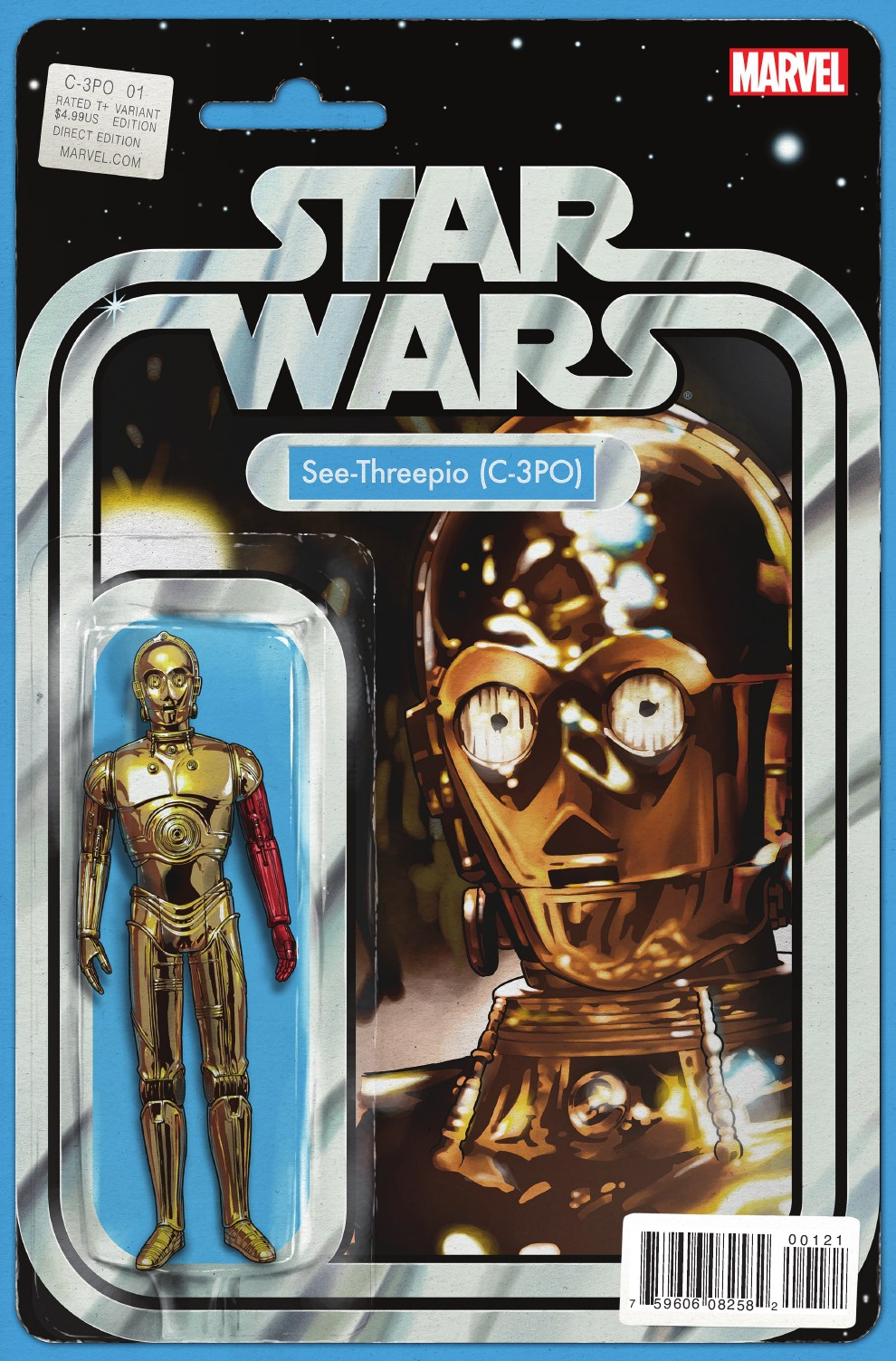 Star Wars Special: C-3PO #1 (Action Figure Variant Cover) (13.04.2016)