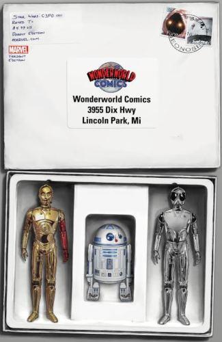 Star Wars Special: C-3PO #1 (John Tyler Christopher Wonderworld Variant Cover) (13.04.2016)