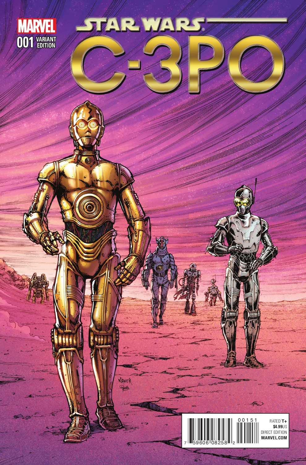 Star Wars Special: C-3PO #1 (Todd Nauck Classic Variant Cover) (13.04.2016)