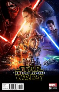 Star Wars: The Force Awakens #1 (Movie Variant Cover) (22.06.2016)