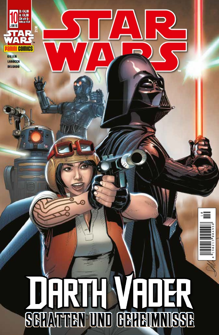 Star Wars #10: Darth Vader: Schatten und Geheimnisse, Teil 1 & 2 (18.05.2016)