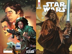 Star Wars #8 (Simone Bianchi Blu-box Variantcover) - Kompletter Umschlag