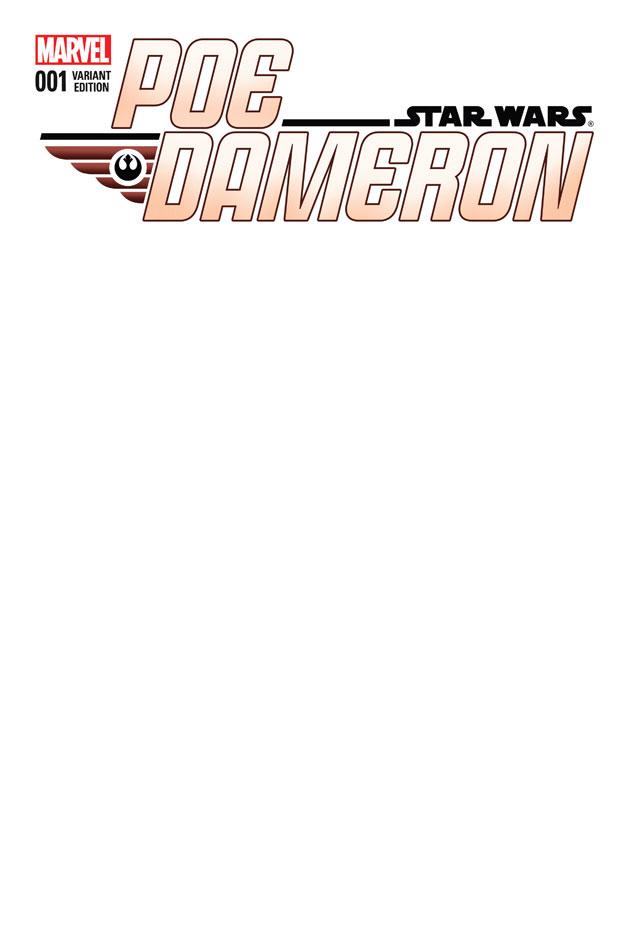 Poe Dameron #1 (Blank Variant Cover) (06.04.2016)