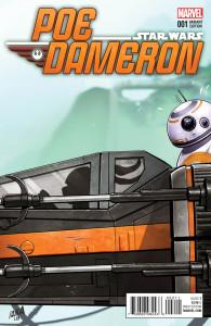 Poe Dameron #1 (David Nakayama Jaxxon Party Variant Cover) (06.04.2016)