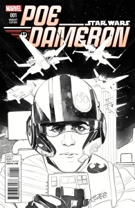 Poe Dameron #1 (Phil Noto Sketch Variant Cover) (06.04.2015)