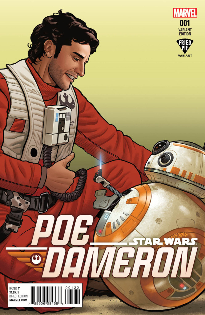 Poe Dameron #1 (Joe Quinones Fried Pie Variant Cover) (06.04.2016)
