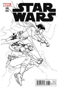 Star Wars #18 (Leinil Francis Yu Sketch Variant Cover) (27.04.2016)