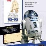 IncrediBuilds: R2-D2 - 3D Wood Model (02.08.2016)