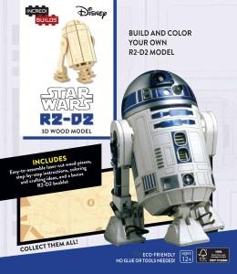 IncrediBuilds: R2-D2 - 3D Wood Model (02.08.2016)