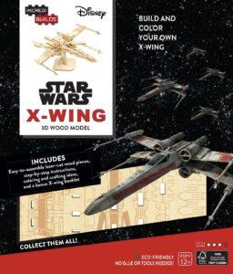 IncrediBuilds: X-Wing 3D Wood Model (04.10.2016)